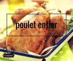 Recette COOKEO - Poulet entier