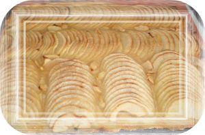 Recette Tarte aux pommes fine