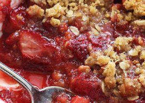 Recette Croustade aux fraises