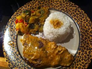 Recette Cotes de Porc au sésame et au curry rouge