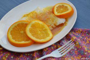 Recette Flétan sauce au miel et à l'orange