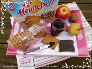 Recette Pâte à tartiner au chocolat maison IG bas