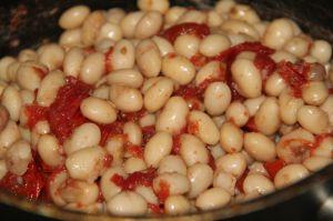 Recette Haricots cocos de paimpol frais a la tomate