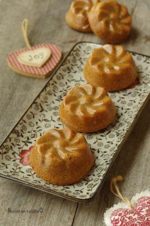 Recette Petits gâteaux praliné et abricots