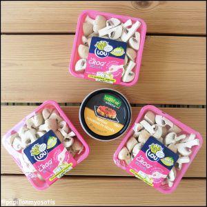 Recette Champignons croq'bellas de lou [#madeinfrance #bretagne #apero #snacking]