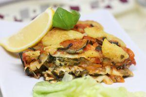 Recette Lasagnes de légumes et son fromage (mozza) végane [vegan]