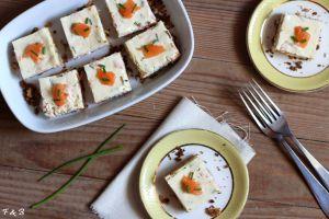 Recette Cheesecakes au faumon fumé