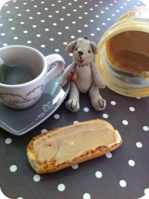 Recette Pâte à tartiner au café