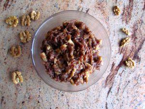 Recette Haroset – pâte juive de dattes