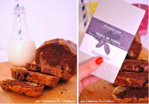 Recette Cake marbré au chocolat aux fèves de tonka