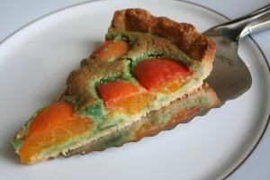 Recette Tarte Abricot/Pistache