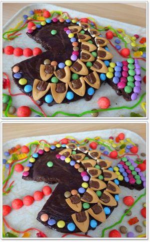 """Recette Gâteau """"Poisson"""" au chocolat"""
