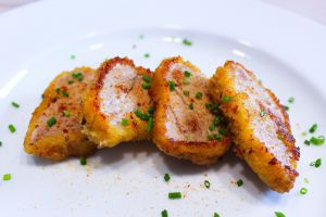 Recette Filet Mignon de Porc Pané