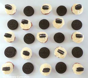 Recette Mini cupcakes Oreo (Mini Oreo cupcakes)