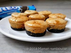 Recette Cheesecake oreo cacahuètes