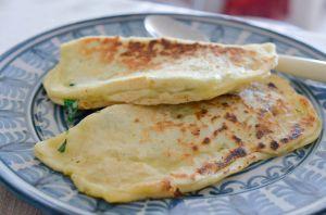 Recette Gozleme épinards et cottage cheese