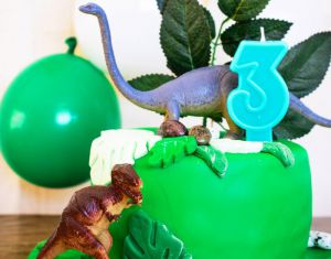 Recette Layer cake dinosaure