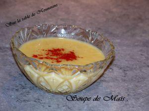Recette Soupe au maïs