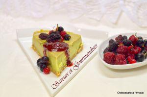 Recette Cheesecake à l'Avocat