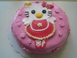 Recette Mon premier gâteau en pâte à sucre!