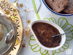 Recette Chutney pommes coing figues et orangettes confites