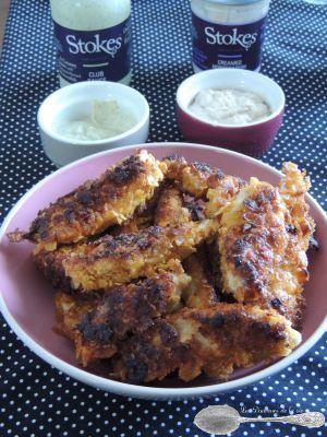 Recette Nuggets de Poulet aux pétales de maïs