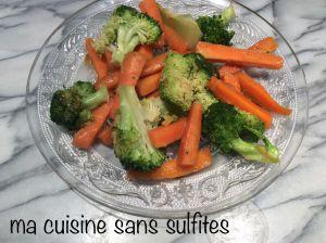 Recette Poêlée asiatique de brocoli et de carottes (recette rapide)