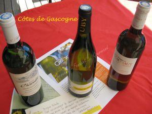 Recette Côtes de Gascogne