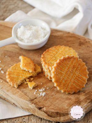 Recette Galette bretonne ou biscuit breton et son caramel au beurre salé