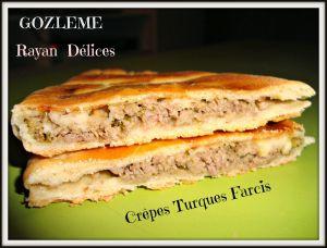 Recette Gozleme (Crêpes Turques)