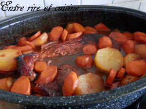 Recette Rouelle de Porc braisée aux Oignons caramélisés