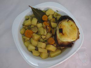 Recette Soupe paysanne aux châtaignes et pélardons