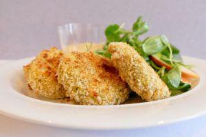Recette Pépites (ou «nuggets») de poulet cuites au four