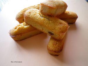 Recette Financiers fourrés à la pâte à tartiner