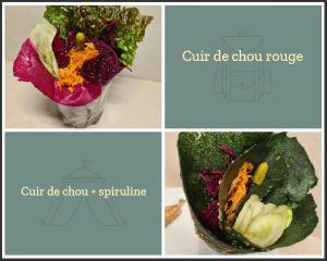 Recette Cuirs de légumes crus - WRAP végétal
