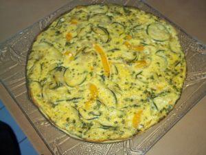 Recette Omelette au four ou frittata de courgette
