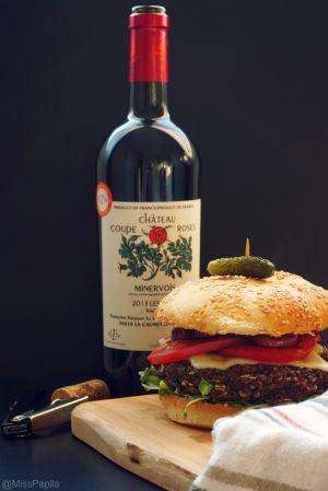 Recette Burger classique aux haricots noirs