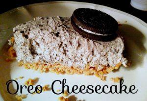 Recette Cheesecake aux Oreo