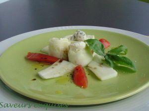 Recette Roulade de courgette au fromage frais