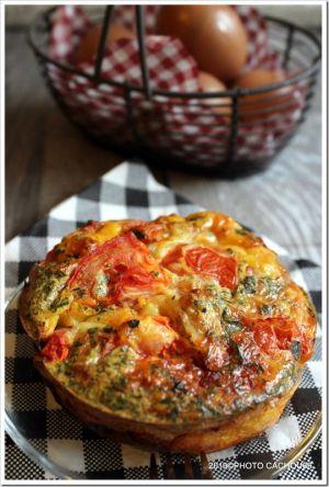 Recette Clafoutis aux tomates et chorizo