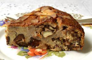 Recette Pudding poire et fruits secs