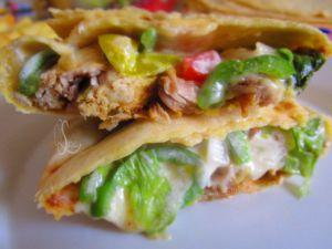 Recette Tacos fait maison au poulet