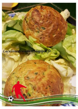Recette Minis cake courgettes