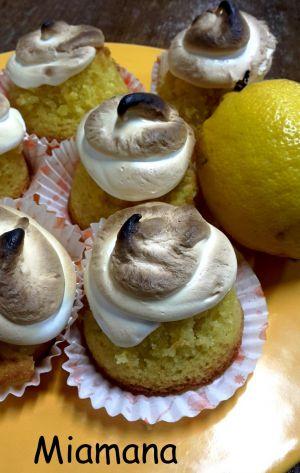 Recette Cupcakes façon tarte au citron meringuée