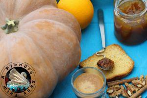 Recette Confiture de potiron aux noix