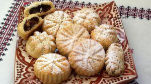 Recette Gâteaux marocains aux dattes