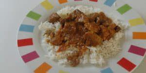 Recette Rouelle de porc au massalé (cari)  – recette de porc 974