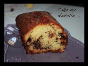 Recette Cake au Nutella