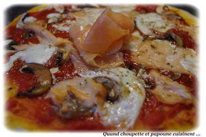 Recette Pizza maison au saumon fume