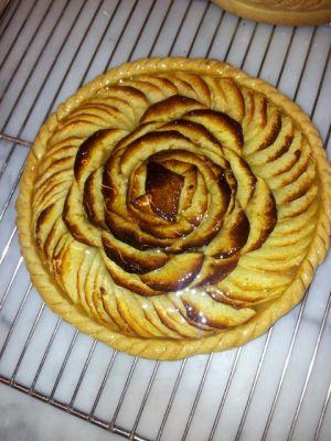 Recette Tarte bourdaloue, Tarte aux pommes
